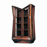 JOSEF GOČÁR GLASS-FRONTED BOOKCASE, 1912