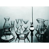 LUDVIKA SMRČKOVÁ PARIS DRINKS SET, 1935—37