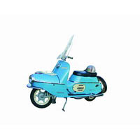 SCOOTER CZ 175, 1957—60
